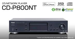 Teac CD-P800NT streamer/cdplayer