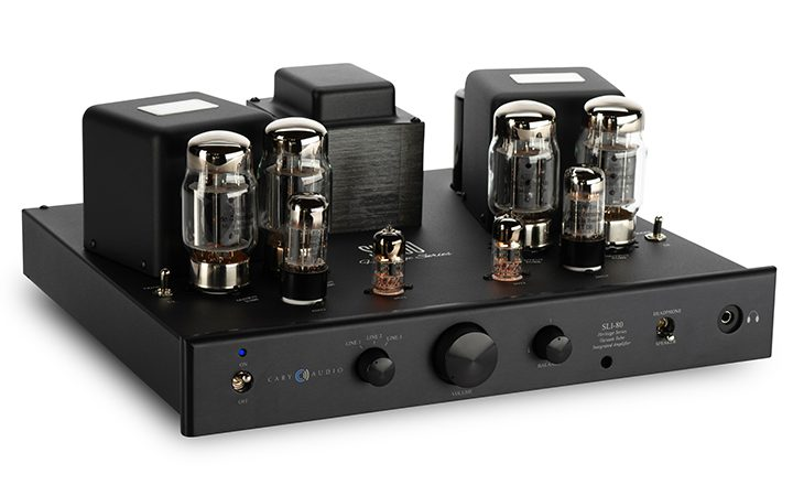 Cary Audio Design SLI 80 zwart incl. afst.bediening High end Buizen
